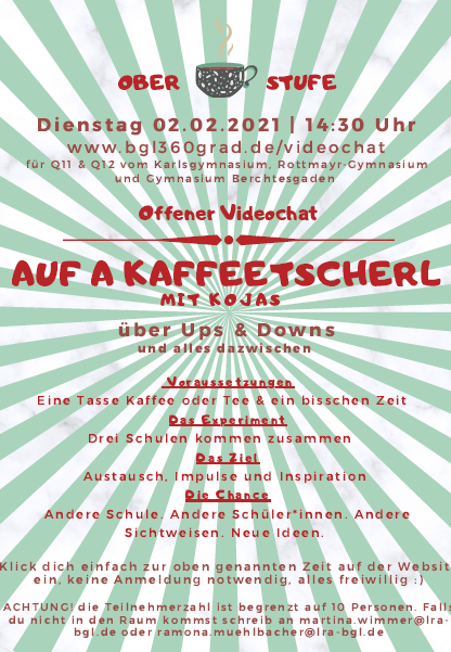 "Nach ""Auf an Tee"" folgt ""Auf a Kaffeetscherl"""