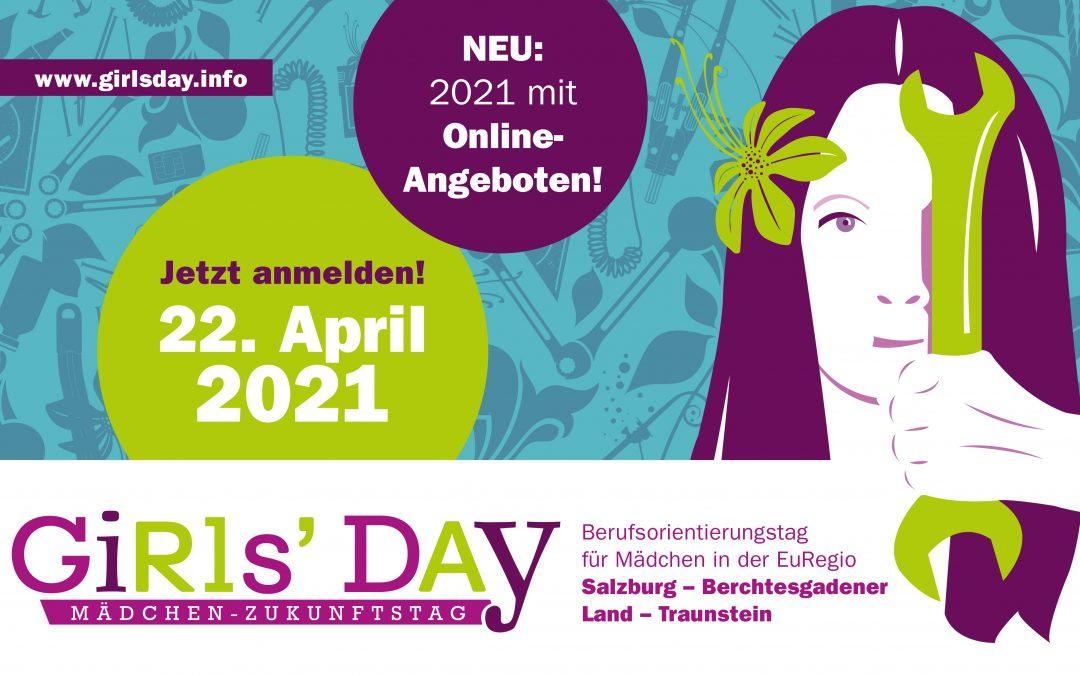 GIRLS DAY! – Sei am 22.April dabei!